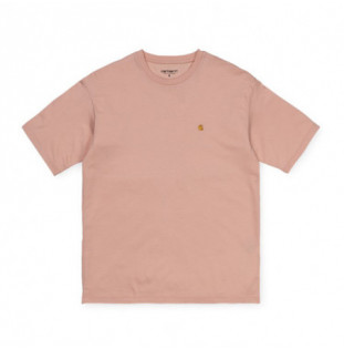 Camiseta Carhartt: W SS CHASY T SHIRT (POWDERY GOLD)