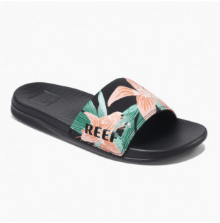 Chanclas Reef: W REEF ONE SLIDE (Hibiscus) Reef - 1