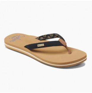 Chanclas Reef: W REEF CUSHION SANDS (Black Tan) Reef - 1