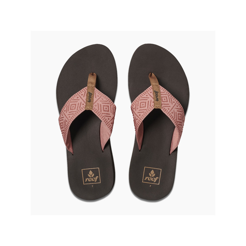 Chanclas Reef: W REEF SPRING WOVEN (Dusty Coral)