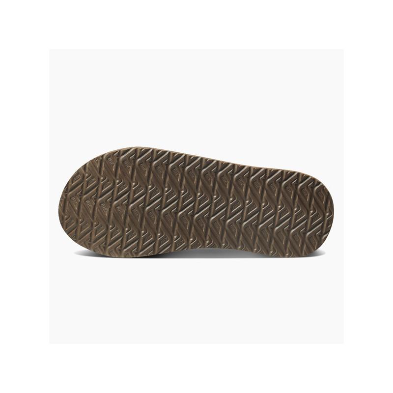 Chanclas Reef: M Cushion Bounce Phantom Le (black brown)