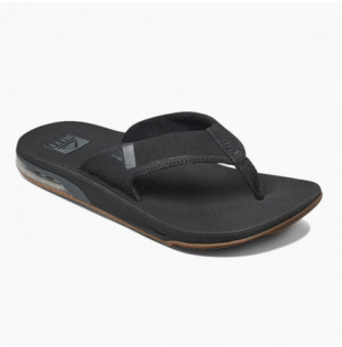 Chanclas Reef: M Fanning Low (Black) Reef - 1