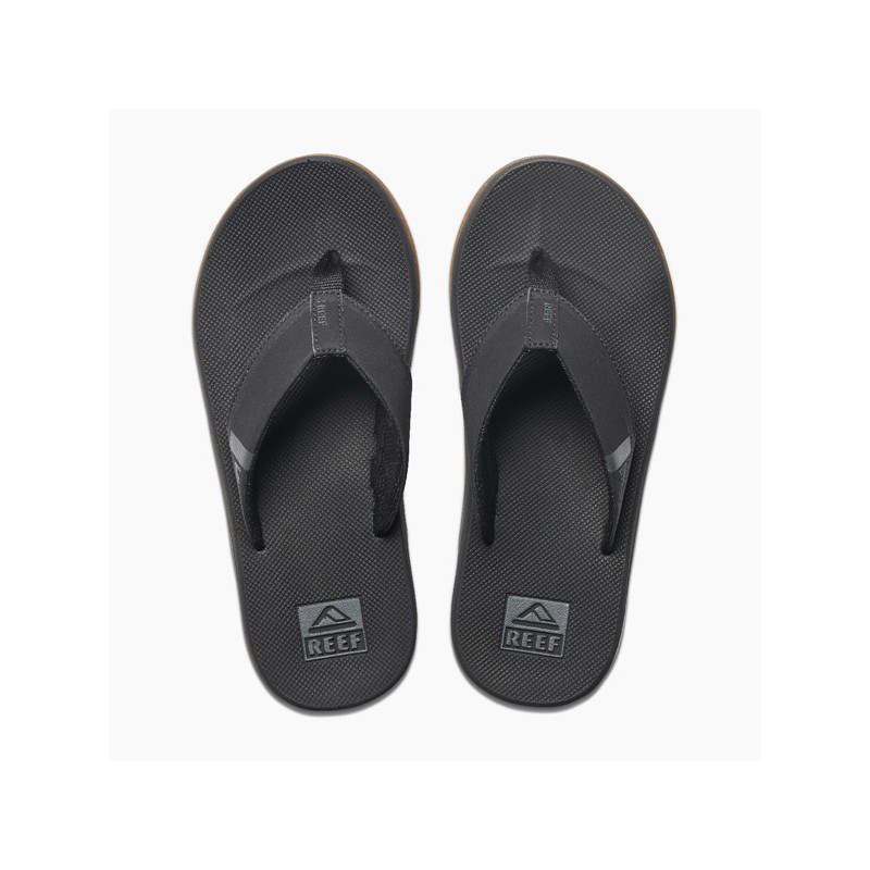 Chanclas Reef: M Fanning Low (Black)