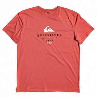 Camiseta Quiksilver: FIRST FIRE SS (BAKED APPLE)