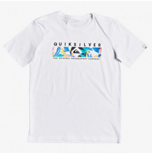 Camiseta Quiksilver: DISTANT FORTUNE (WHITE)