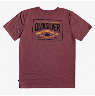 Camiseta Quiksilver: CLOUD CORNER SS (APPLE BUTTER HEATHER)