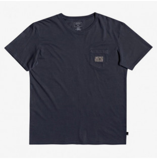 Camiseta Quiksilver: SUB MISSION SS (BLUE NIGHTS)