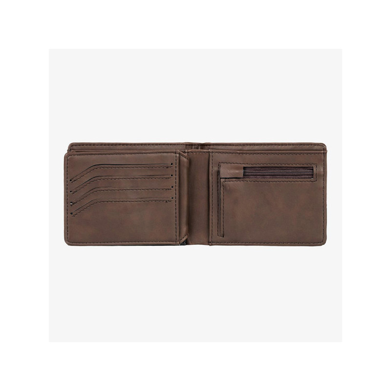 Cartera Quiksilver: NATIVE COUNTRY II (CHOCOLATE BROWN)