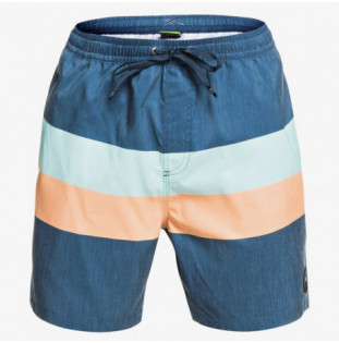 Bañador Quiksilver: SEASONS VOLLEY 17 (MAJOLICA BLUE)