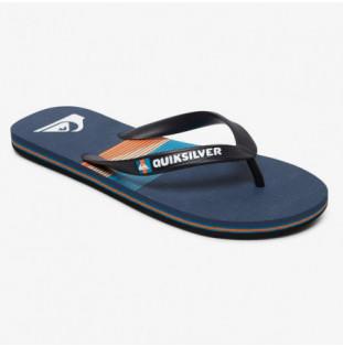 Chanclas Quiksilver: MOLOKAI SEASONS (BLACK BLUE BLUE) Quiksilver - 1