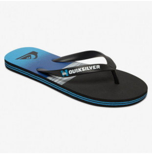 Chanclas Quiksilver: MOLOKAI HOLD DOWN (BLACK BLUE BLACK) Quiksilver - 1