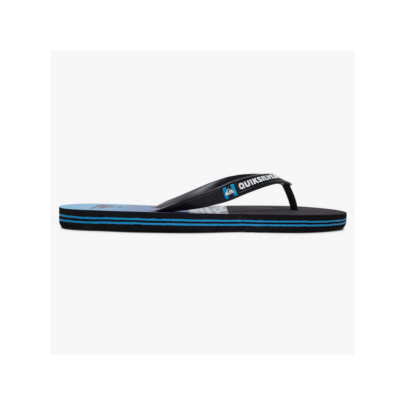 Chanclas Quiksilver: MOLOKAI HOLD DOWN (BLACK BLUE BLACK)
