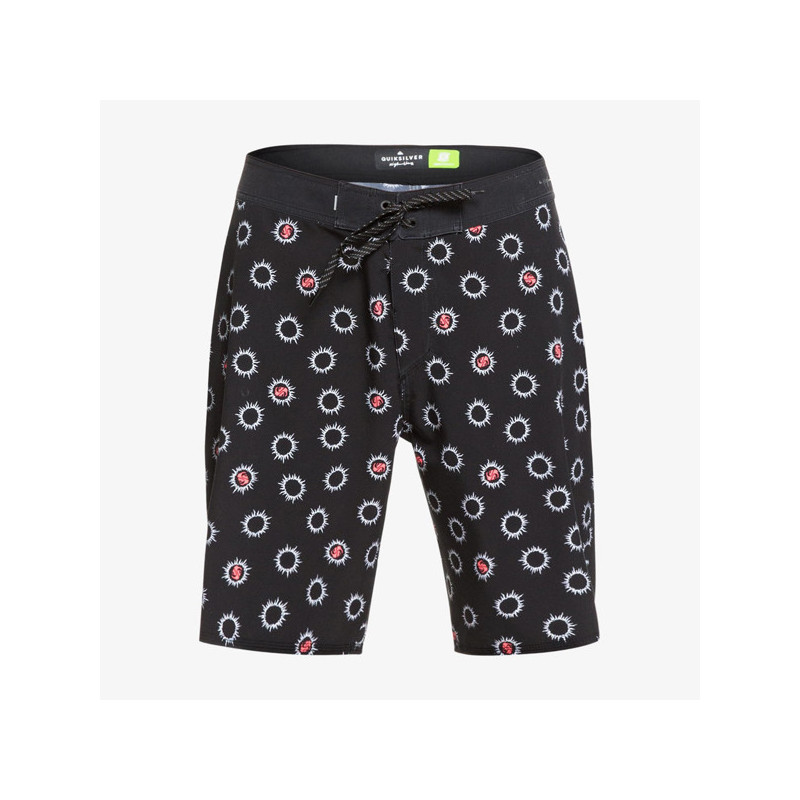 Bañador Quiksilver: HIGH SOL 18 (BLACK)