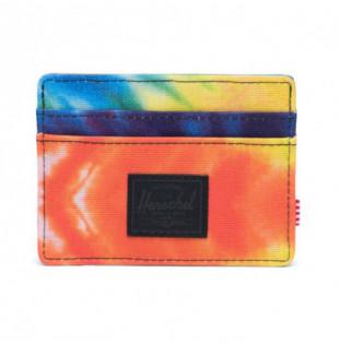 Cartera Herschel: Charlie RFID (Rainbow Tie Dye)