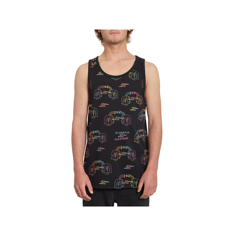Camiseta Volcom: LUMINATOR TANK (NEW BLACK)
