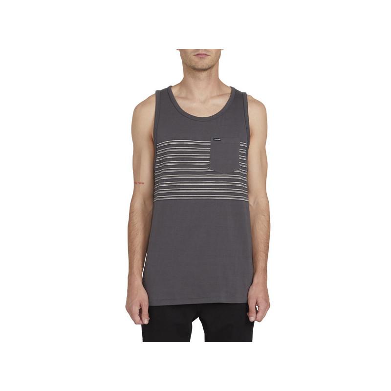 Camiseta Volcom: FORZEE TANK (DARK CHARCOAL)
