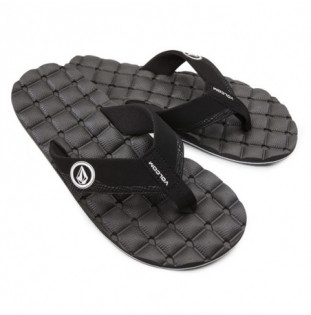 Chanclas Volcom: RECLINER SNDL (BLACK WHITE) Volcom - 1