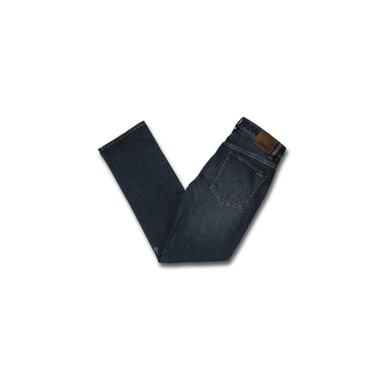 Pantalón Volcom: SOLVER DENIM (MEDIUM BLUE WASH)