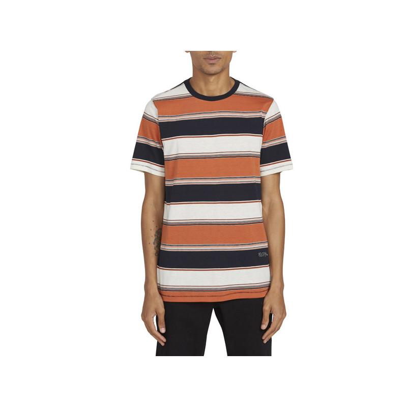Camiseta Volcom: CHROMATIC CREW SS (BURNT ORANGE)
