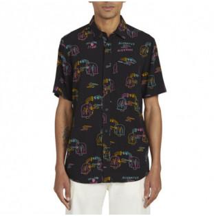 Camisa Volcom: ALIENATED SS (BLACK)