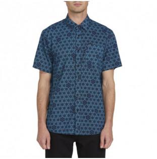 Camisa Volcom: SUN MEDALLION SS (BLACK)