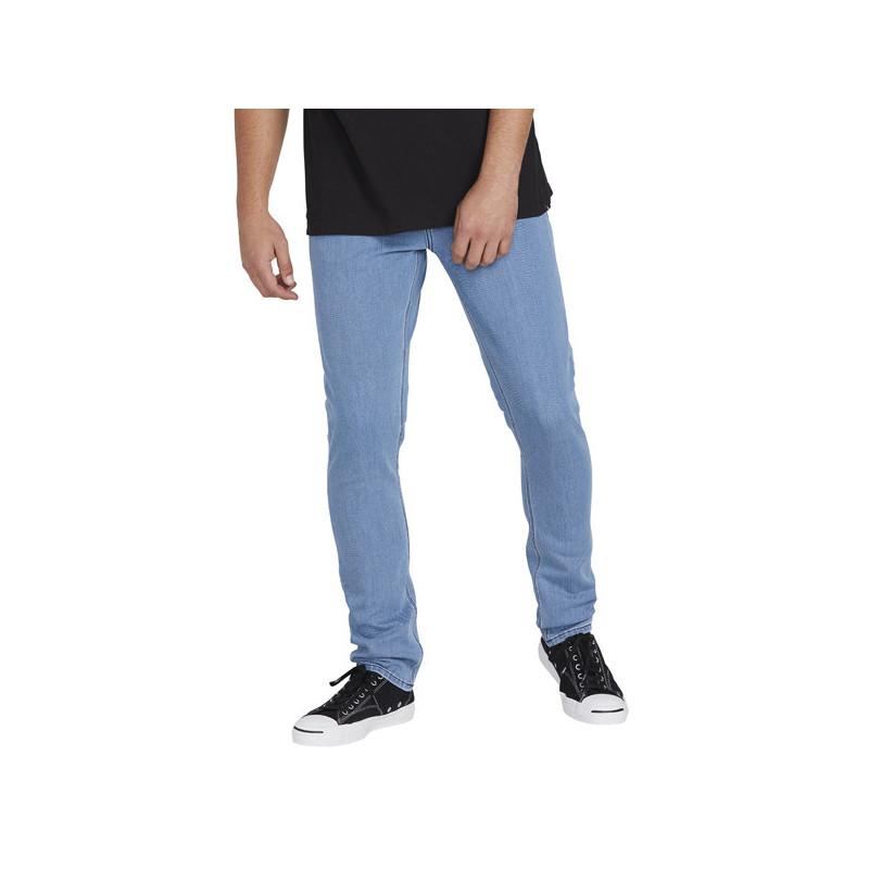 Pantalón Volcom: 2X4 DENIM (FLAT VINTAGE INDIGO)