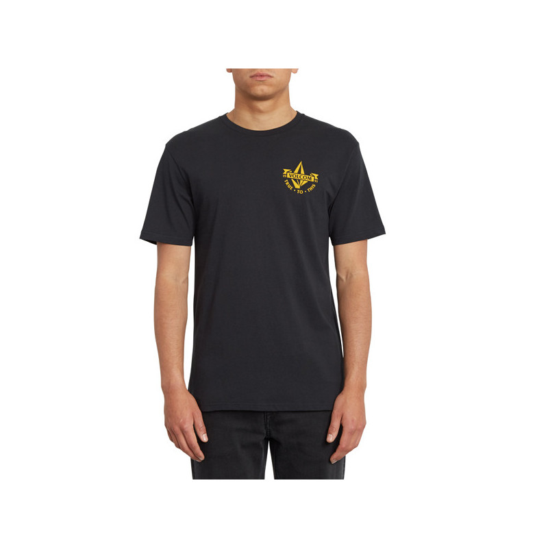 Camiseta Volcom: STOKER BSC SS (BLACK)