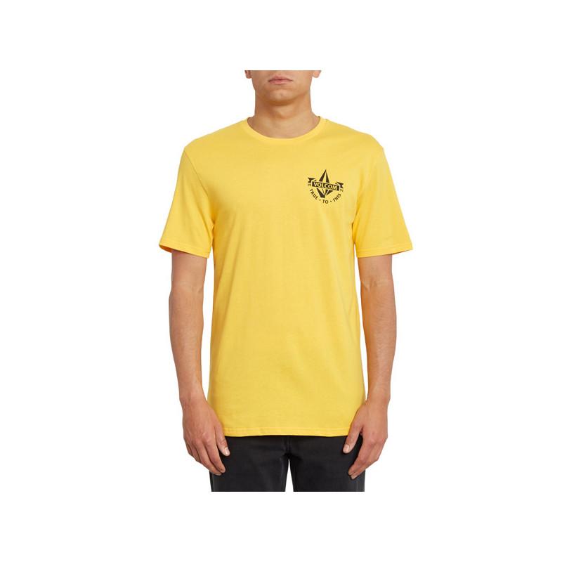 Camiseta Volcom: STOKER BSC SS (CITRUS GOLD)