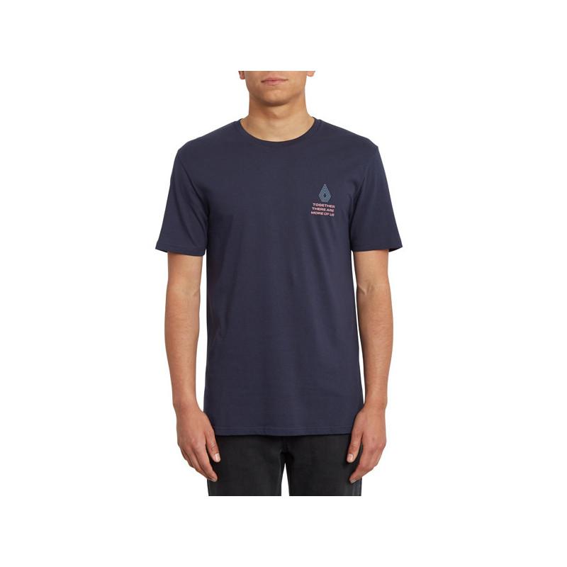 Camiseta Volcom: RADIATION BSC SS (NAVY)