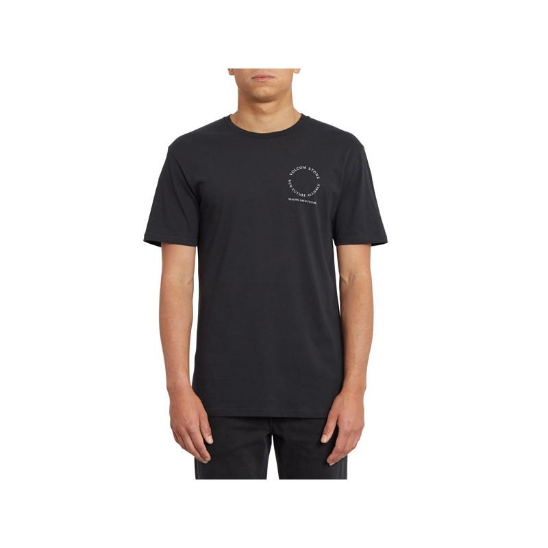 Camiseta Volcom: NEW ALLIANCE BSC SS (BLACK)