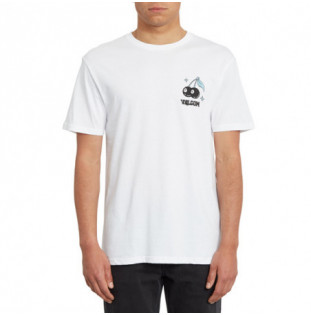 Camiseta Volcom: NATURE KNOWS BSC SS (WHITE) Volcom - 1