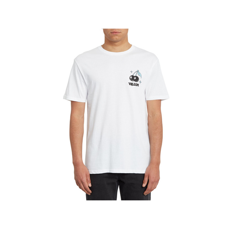 Camiseta Volcom: NATURE KNOWS BSC SS (WHITE)