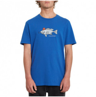 Camiseta Volcom: TROUT THERE LTW SS (DEEP WATER) Volcom - 1