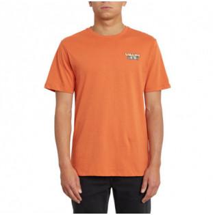 Camiseta Volcom: DAYBREAK FTY SS (BURNT ORANGE) Volcom - 1