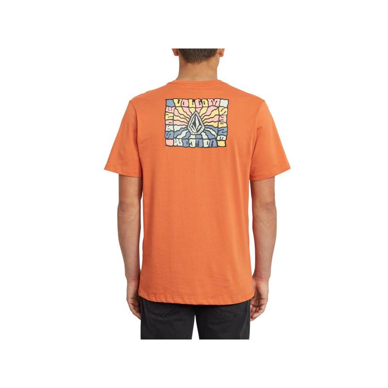 Camiseta Volcom: DAYBREAK FTY SS (BURNT ORANGE)