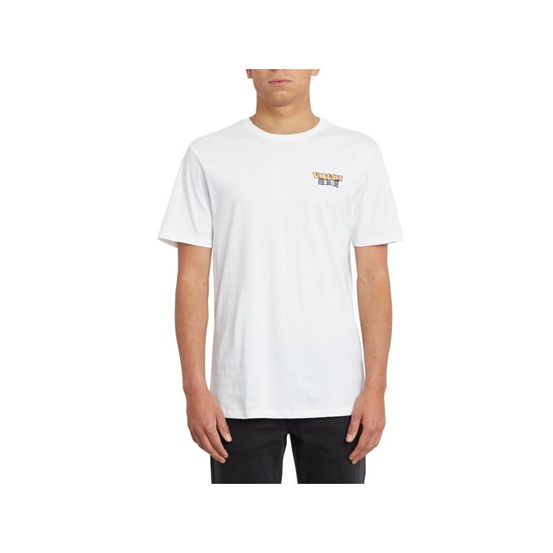 Camiseta Volcom: DAYBREAK FTY SS (WHITE)
