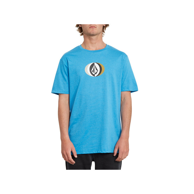 Camiseta Volcom: VAST HTH SS (TRUE BLUE)