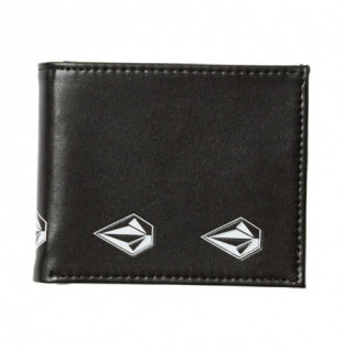 Cartera Volcom: EMPTY PU WALLET (NEW BLACK)