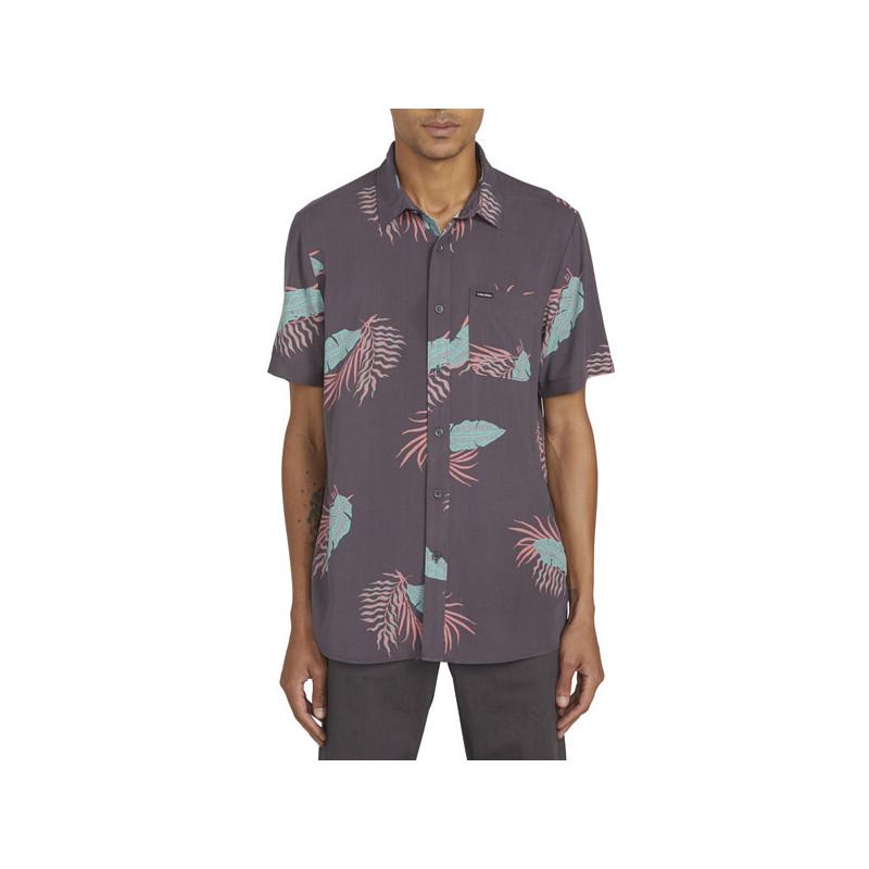 Camisa Volcom: BERMUDA SS (DARK CHARCOAL)