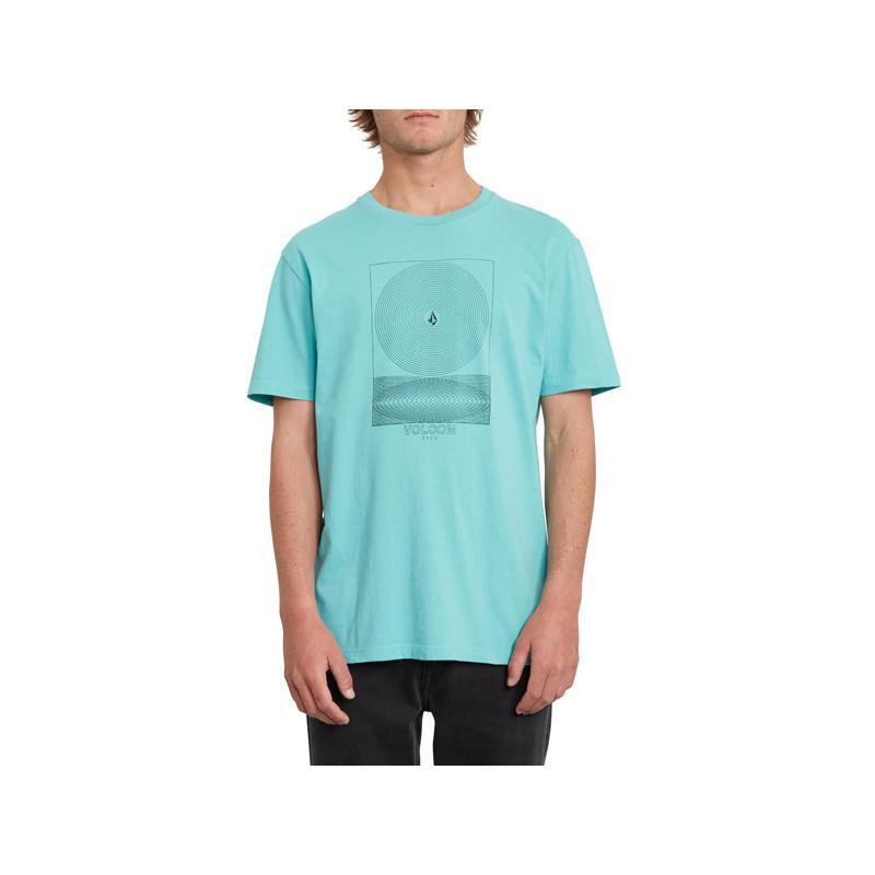 Camiseta Volcom: GRAVITAS LTW SS (MYSTO GREEN)