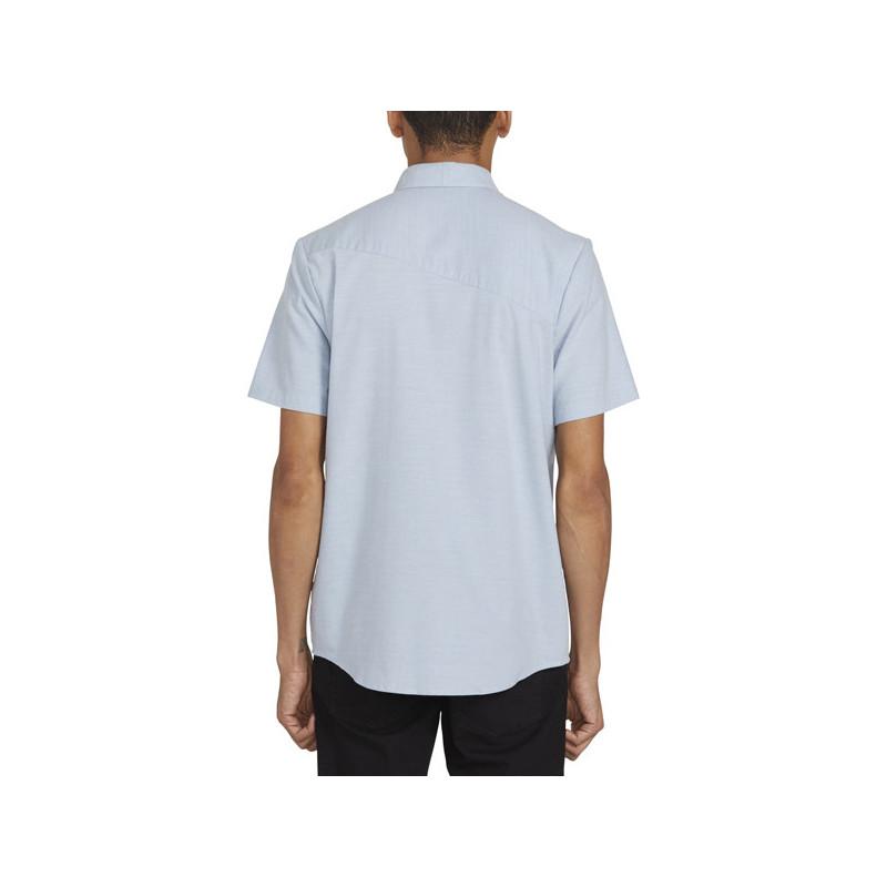 Camisa Volcom: EVERETT OXFORD SS (WRECKED INDIGO)