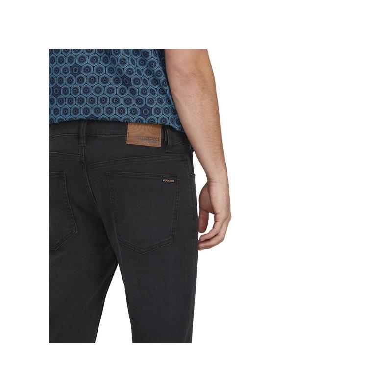 Pantalón Volcom: 2x4 TAPERED (INK BLACK)