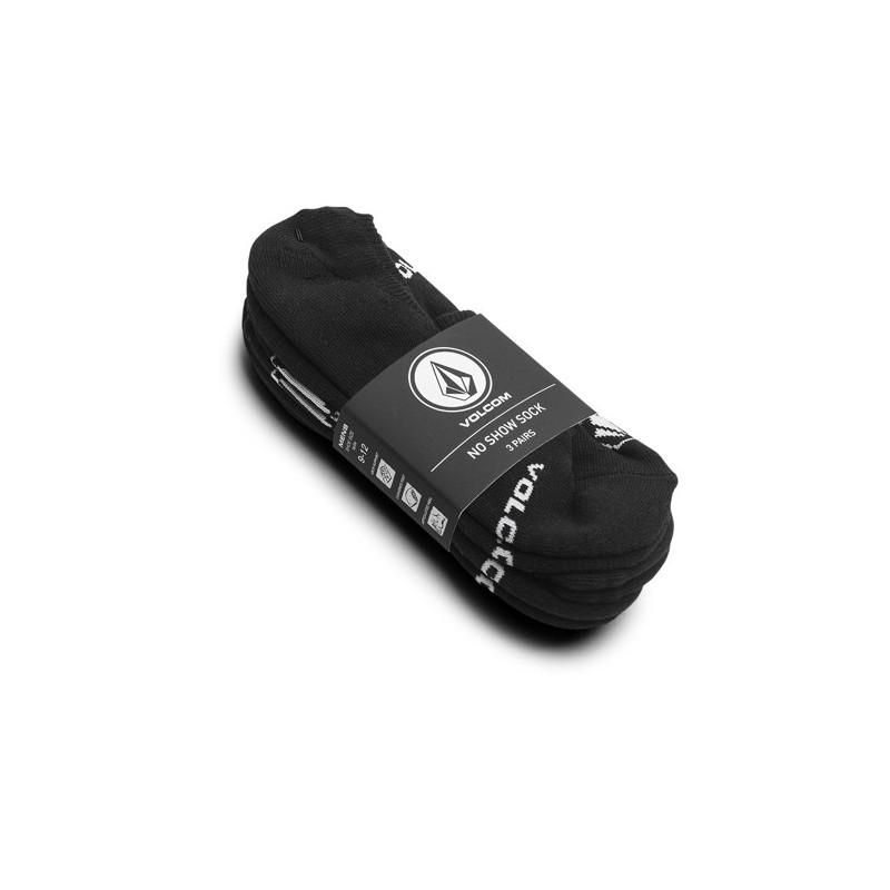 Calcetines Volcom: STONES NSHW SOCK 3PK (BLACK)