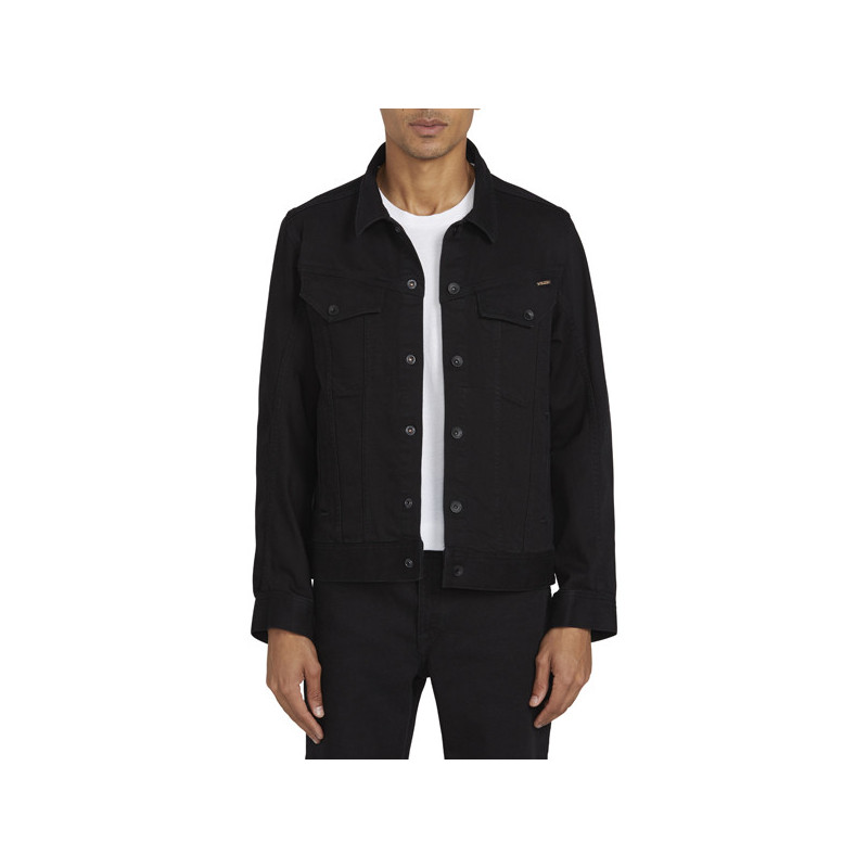 Chaqueta Volcom: WEAVER DENIM JACKET (BLACK)