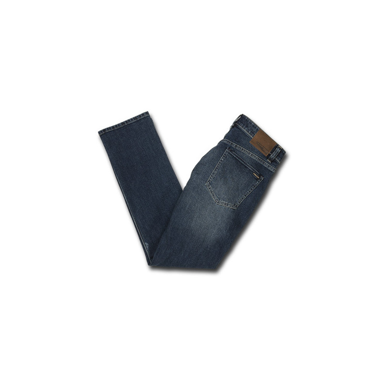 Pantalón Volcom: VORTA DENIM (MEDIUM BLUE WASH)