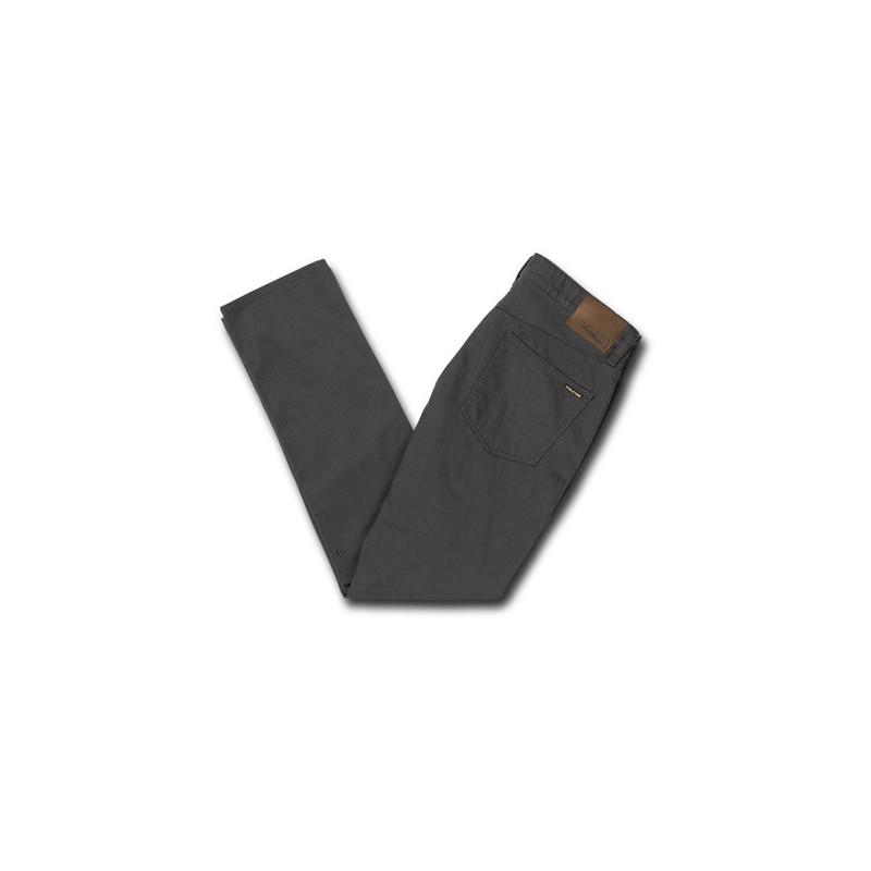 Pantalón Volcom: VORTA 5 POCKET SLUB (ASPHALT BLACK)