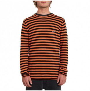 Jersey Volcom: BEAMER SWEATER (BURNT ORANGE) Volcom - 1