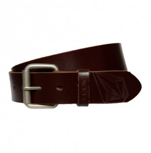 Cinturón Volcom: STRAIGHT LTH BELT (BROWN) Volcom - 1