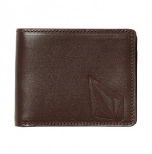 Cartera Volcom: STRAIGHT LTH WALLET (BROWN) Volcom - 1