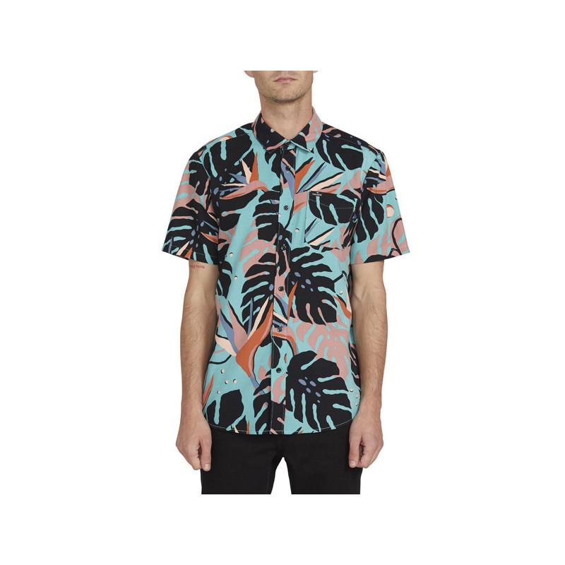 Camisa Volcom: MENTAWAIS SS (MYSTO GREEN)